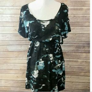 Silence and Noise Cold Shoulder Dress